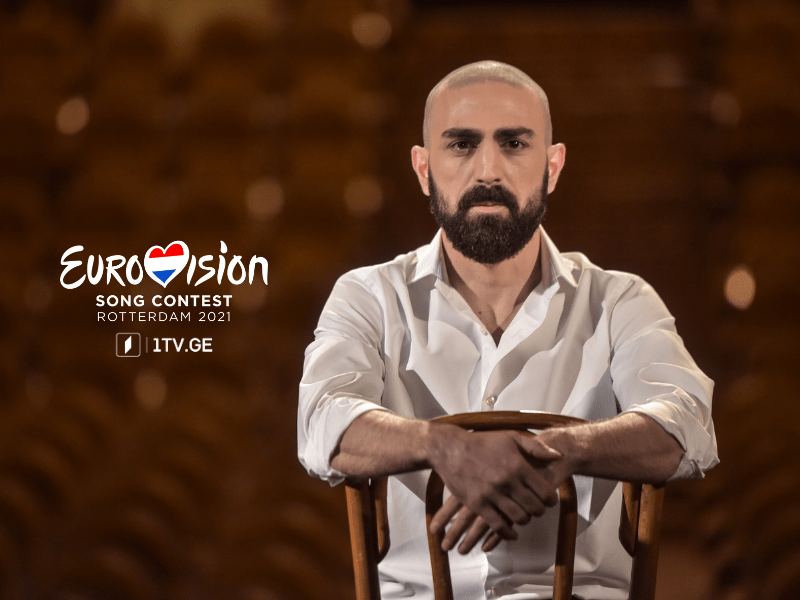 Eurovision 2021 : Tornike Kipiani en interview !