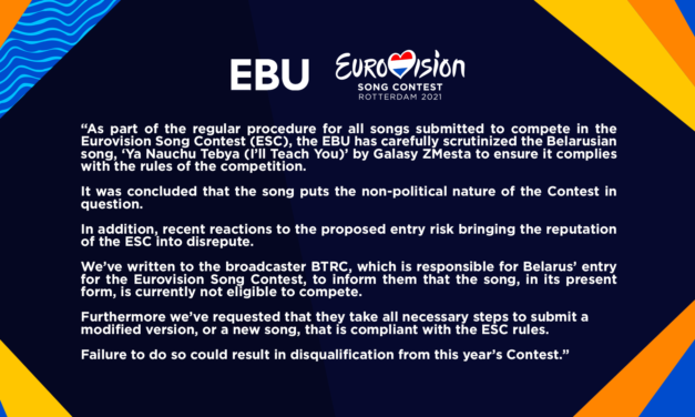 Biélorussie 2021 : deux nouvelles chansons proposées