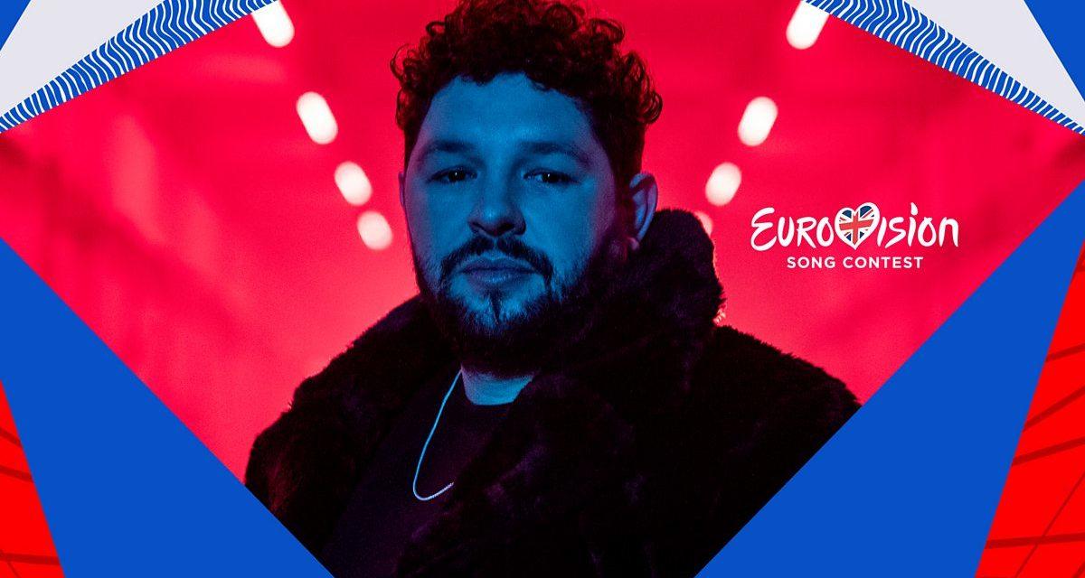 Eurovision 2021 : James Newman en interview !