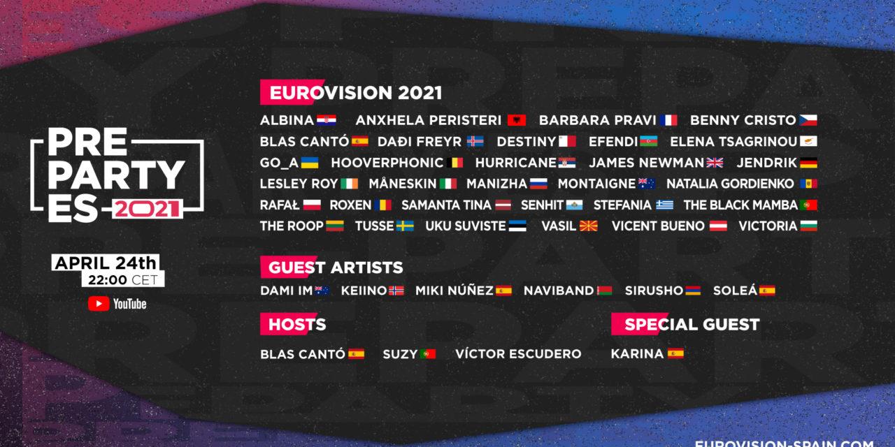 Eurovision PreParty ES 2021 : compte-rendu et sondage