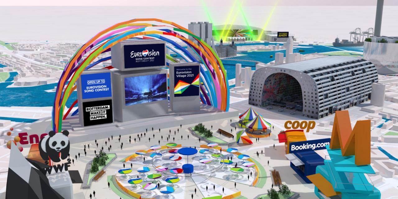 Rotterdam 2021 : premières images de l'Eurovillage en ligne