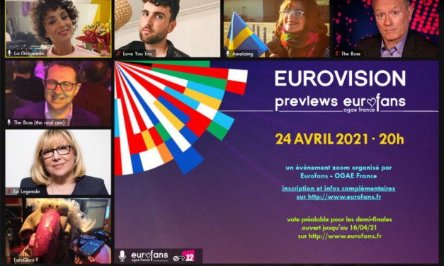 Ce soir : Previews 2021 d'OGAE France
