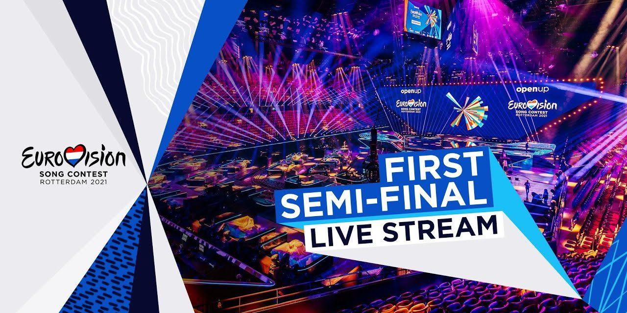 Eurovision 2021 : compte-rendu de la première demi-finale