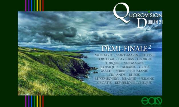 Quorovision 2021: 2ème Demi Finale