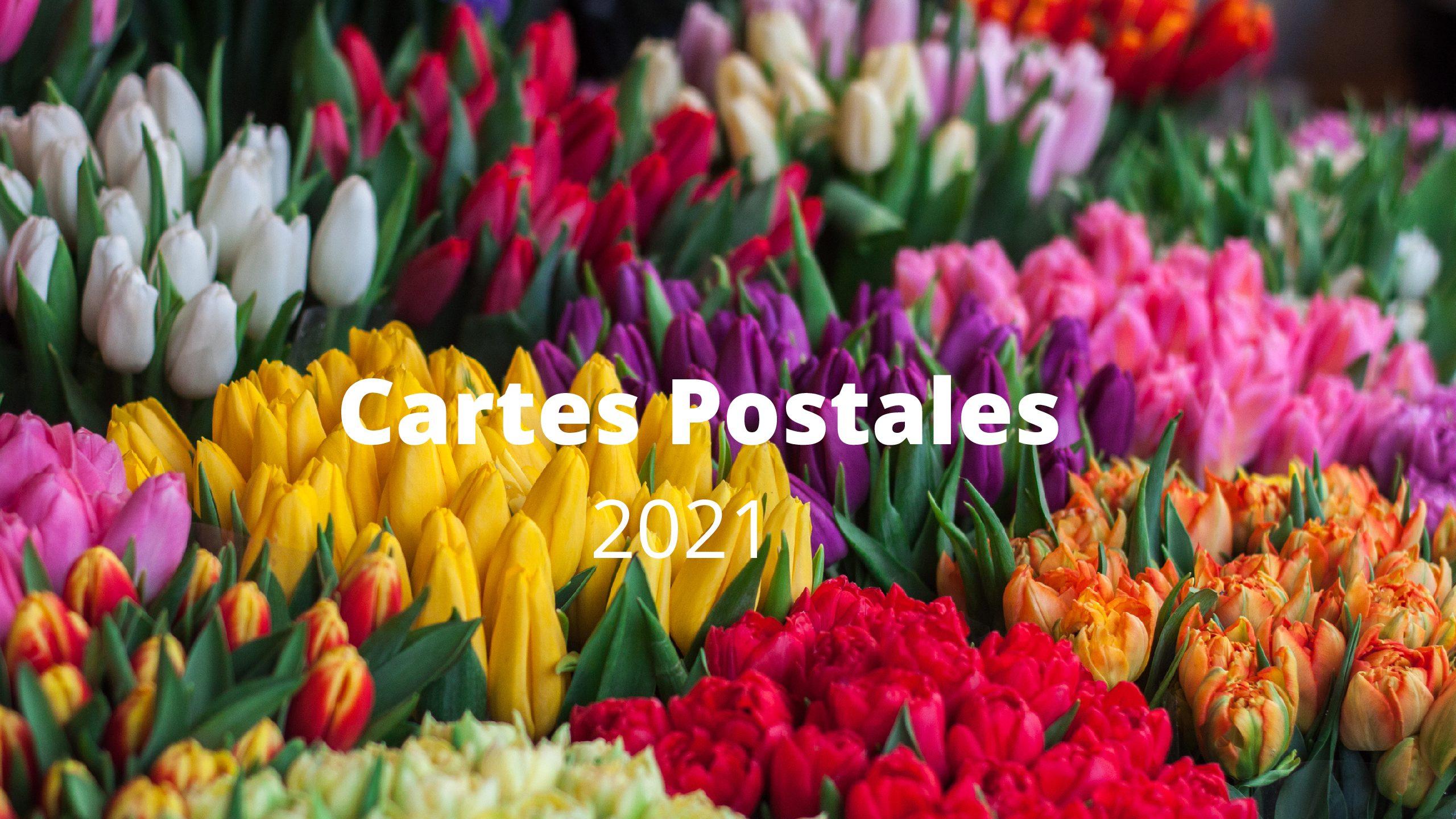 Cartes Postales 2021 (1ère partie) : Laquelle préférez-vous?