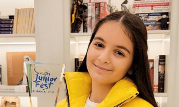 Eurovision Junior 2021 : Anna Gjebrea pour l'Albanie ! (Mise à jour : découvrez «Stand By You»)
